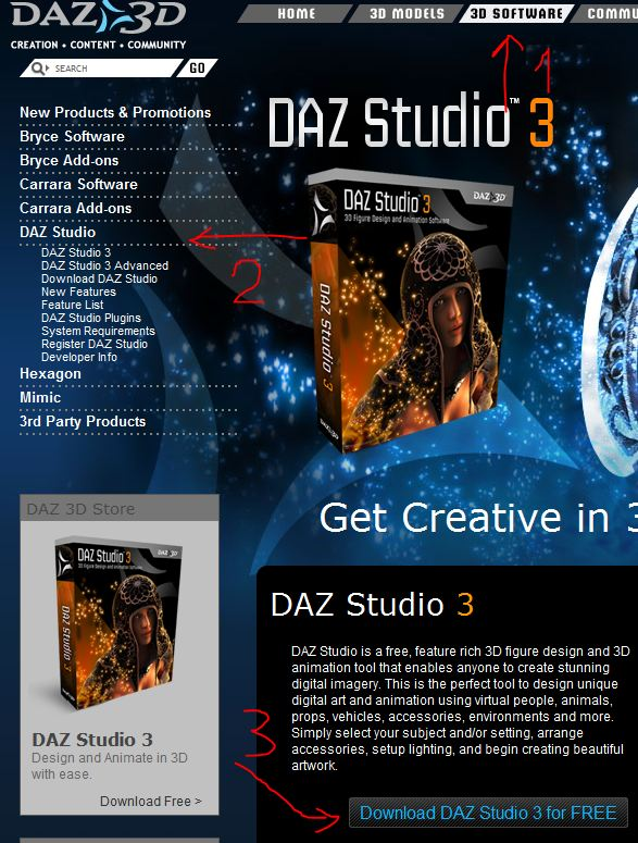 Excellent Base Human Figures are FREE on DAZ 3D! - 3D and