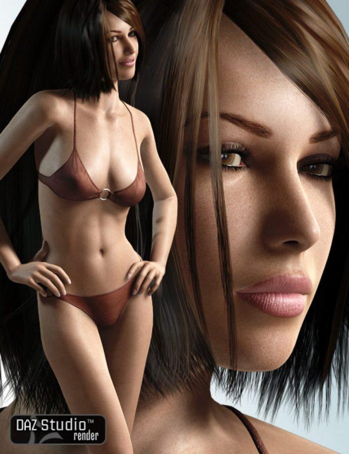 Victoria 4.2 base human figure