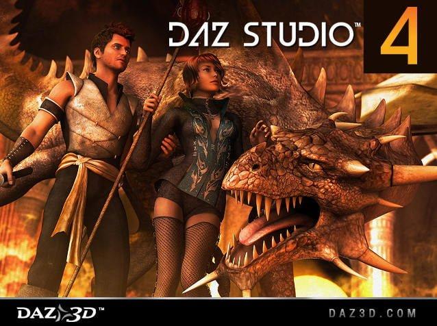 DAZ Studio 4