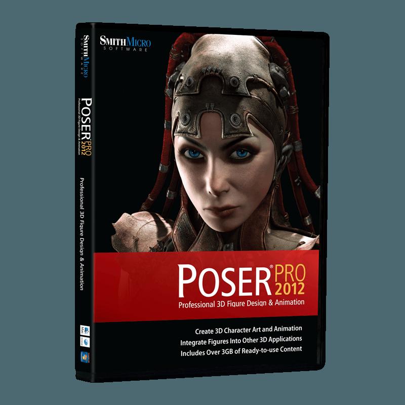 Poser Pro 2012 cover