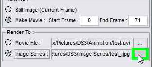 In the Render Settings tab check Image Series to Render an animation: