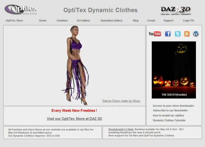 Free Dynamic Clothing for DAZ Studio - 3D and DAZ Studio Addict