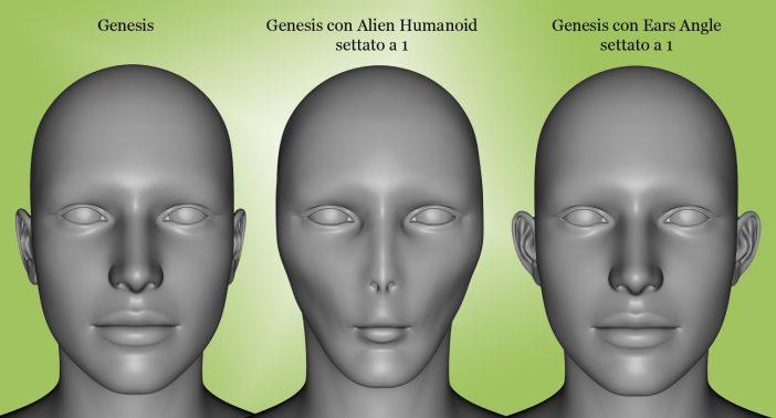 Genesis morph testa