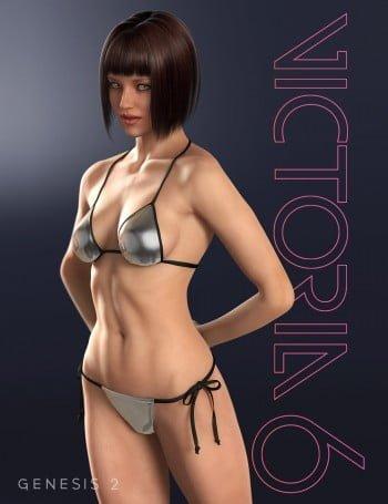 Figura umana 3d Victoria 6 Base di DAZ 3D