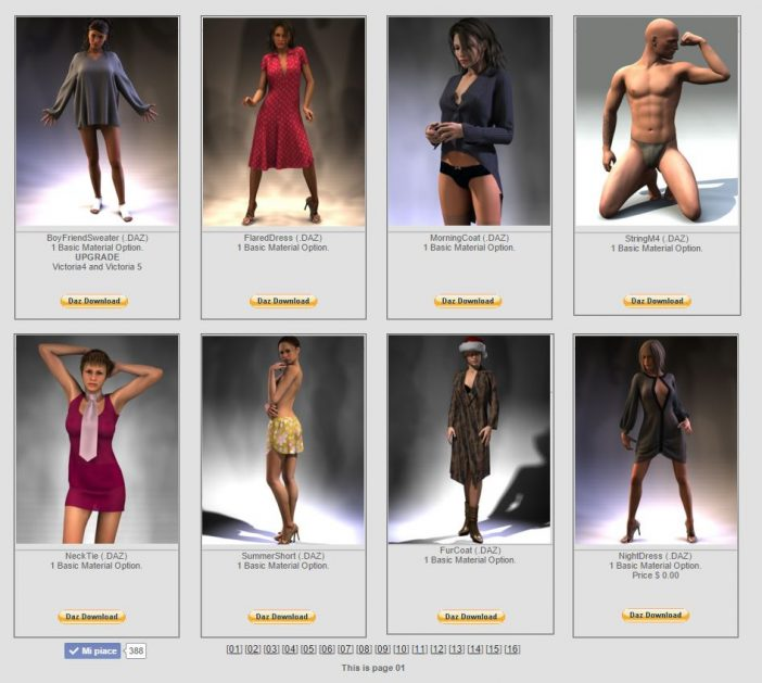 Optitex Dynamic Clothing freebies