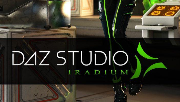 DAZ Studio 4.8 Iradium promo
