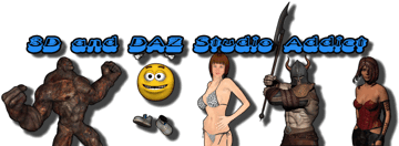 3D and DAZ Studio Addict